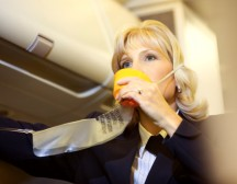 When you are in an airplane preparing for takeoff, the flight attendant instructs you on how to use the plane's oxygen system in case of emergency. You're told to put on your own mask first before you try to help a small child or anyone else needing assistance.