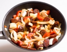 Prep Time:20 min Cook Time:30 min Ready In:50 min Servings:4 – 6 ————————————————————————- INGREDIENTS: 1 medium sweet onion 4-6 red potatoes, cut in wedges 1 can sweet corn 1 large […]