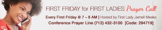 First Lady Prayer Call