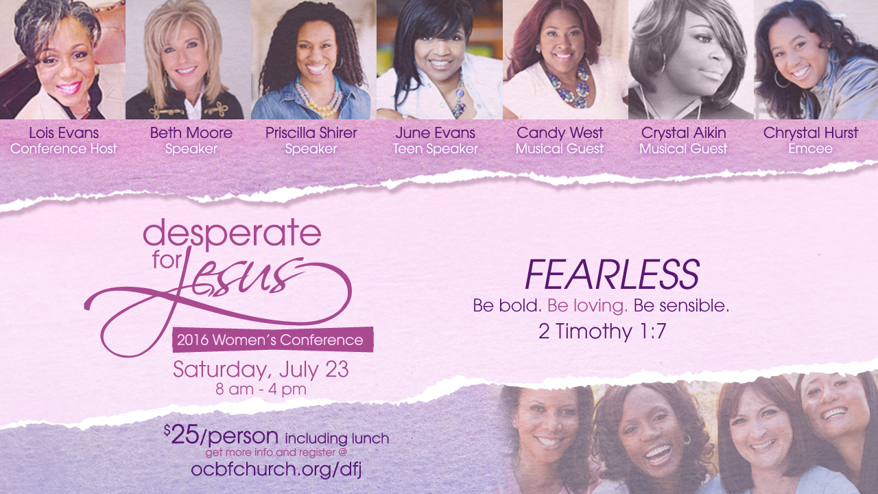 Desperate for Jesus 2016 | Lois Evans