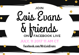 Save the Dates for Facebook Live Events in July