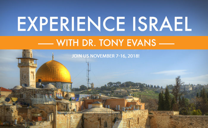 Experience Israel with Dr. Tony Evans