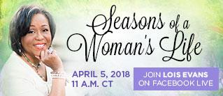 Seasons of a Woman's Life Webinar - April 5, 2018, 11 AM CT