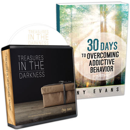 Treasures in the Darkness CD Series AND 30 Days to Overcoming Addictive Behavior Booklet