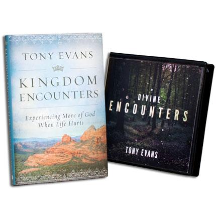 Divine Encounters CD Series AND Kingdom Encounters book
