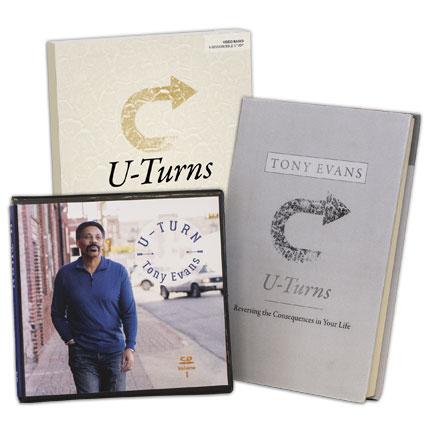 U-Turn Volume 1&2 CD Series AND U-turns (New Book)