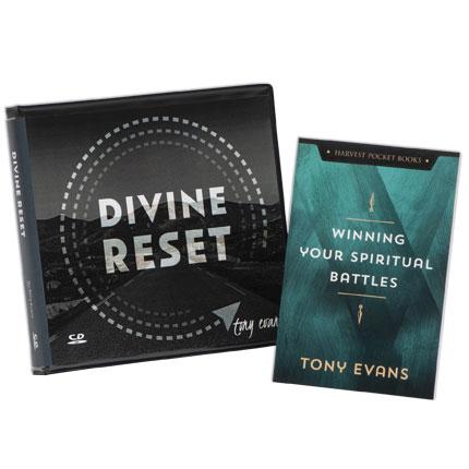 Divine Reset CD Series AND Winning Your Battles Spiritual Warfare Booklet